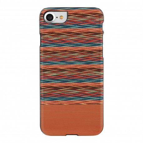 MAN&WOOD case for iPhone 7/8 browny check black