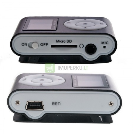 Mini mp3 grotuvas su lcd ekranu r17c