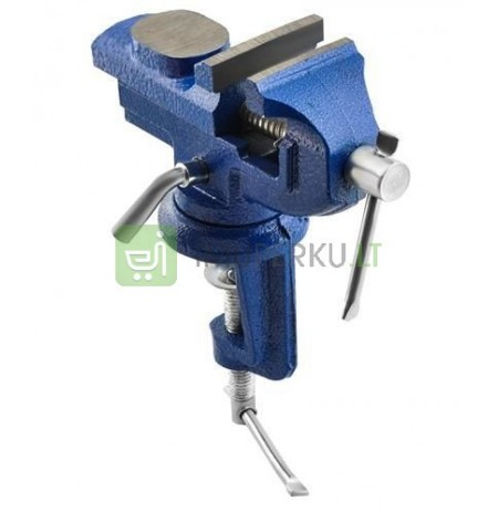 Vice made of cast anvil trapezoidal thread 1.2kg span 50mm * 5620