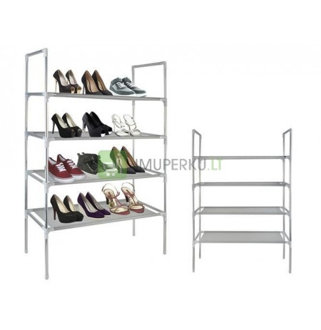 Shoe rack shoe rack 12 pairs of shoes expandable 4 levels * 5626