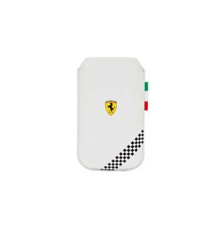 Ferrari Formula1 Series Pouch for iPhone 4S/4 white