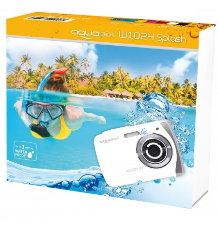 Easypix AquaPix W1024-W Splash white 10018