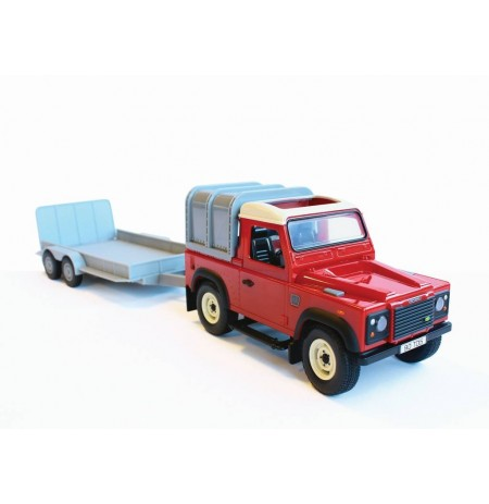 Tomy Britains Land Rouver & Trailer 342