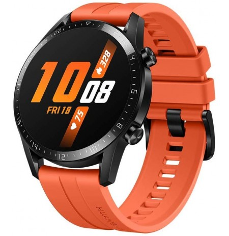 Huawei Watch GT 2 sunset orange fluoroelastomer strap 46mm (LTN-B19)