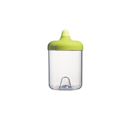 ViceVersa round canister 1L green 11311