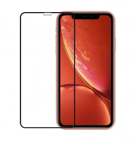 Devia Real Series 3D Curved Full Screen Explosion-proof Tempered Glass iPhone XS/X(5.8) black