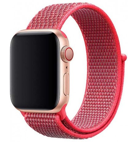 Devia Deluxe Series Sport3 Band (44mm) for Apple Watch hibiscus