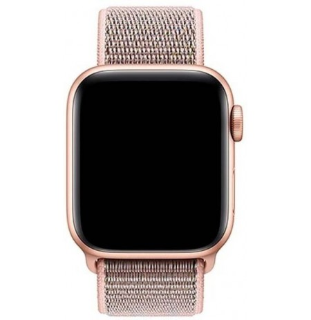 Devia Deluxe Series Sport3 Band (44mm) for Apple Watch pink sand