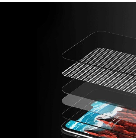 Devia Real Series 3D Full Screen Privacy Tempered Glass iPhone 11 Pro Max black