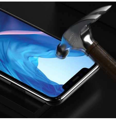 Devia Van Entire View Full Tempered Glass iPhone 11 Pro black