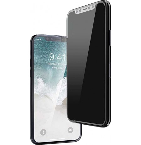 Devia Real Series 3D Full Screen Privacy Tempered Glass iPhone 11 black