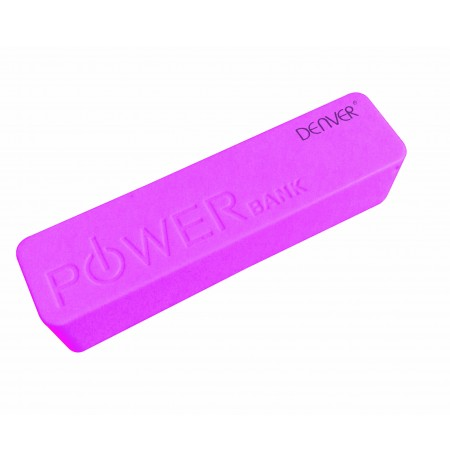 Denver Power bank PBA-2600 pink (2600mAh)