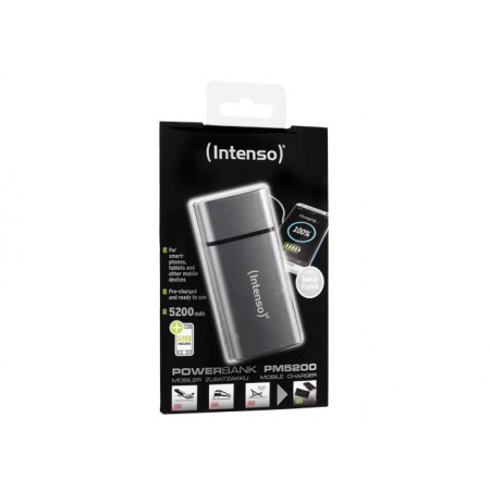 Intenso PM5200 metal finish grey 7323524 (5200mAh)