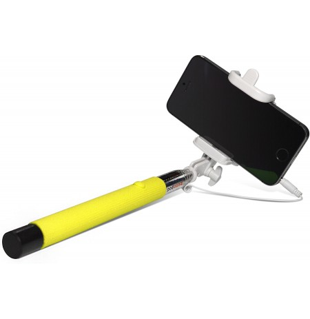 Sponge Selfie Stick C Yellow