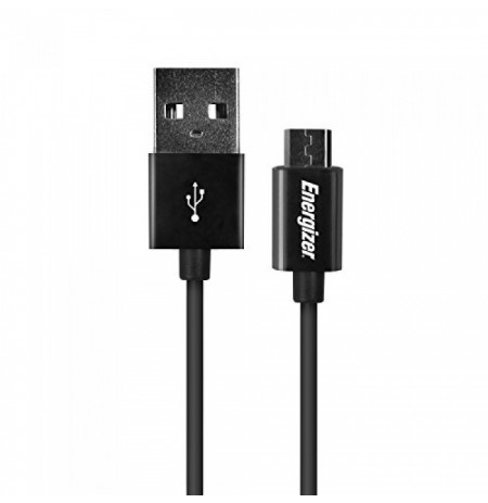 Energizer Car Charger Micro-USB black (DCA1ACMC3)