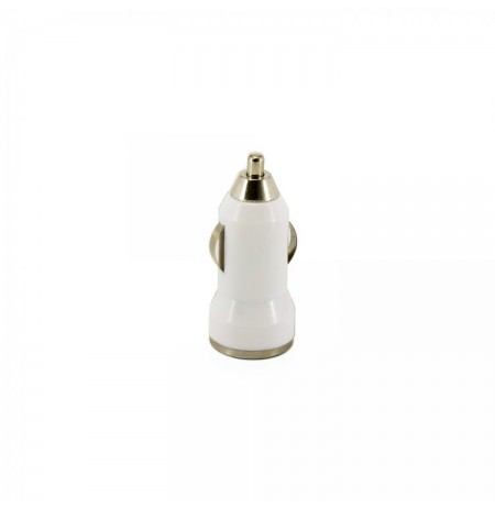 Sbox Dual USB Car Charger CC-221W coconut white