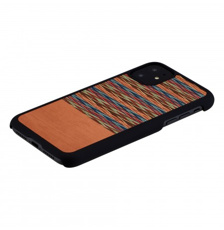 MAN&WOOD SmartPhone case iPhone 11 browny check black