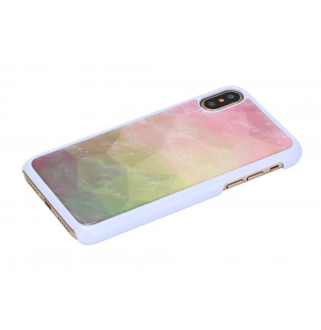 iKins SmartPhone case iPhone XS/S water flower white