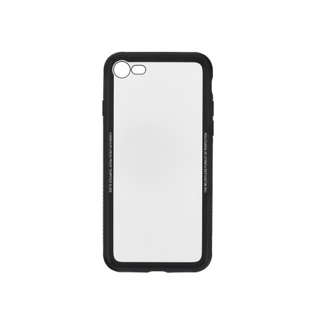 Tellur Cover Glass Simple for iPhone 8 black