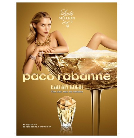 Paco Rabanne Lady Mill Eau My G (EDT,Woman,TESTER,80ml)