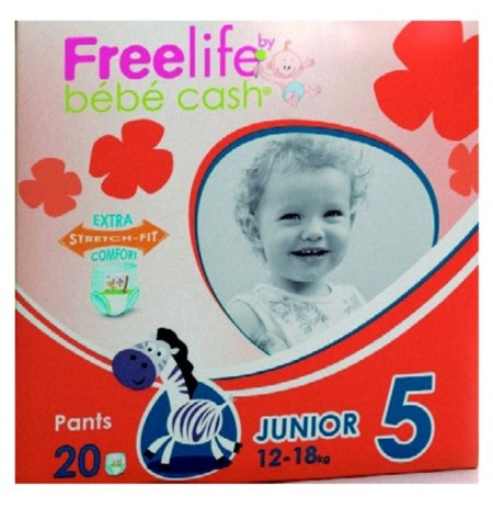 Bebecash Freelife Junior 12-18kg 20pcs (270191)