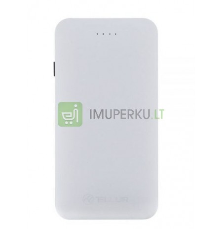 Tellur Power Bank QC 3.0 Fast Charge, 5000mAh silver