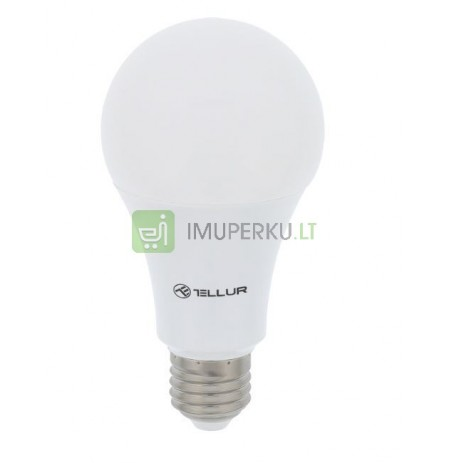 Tellur WiFi Smart Bulb E27 white/warm/RGB, dimmer