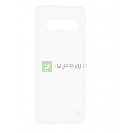 Tellur Cover Basic Silicone for Samsung Galaxy S10 transparent