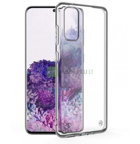Tellur Cover Basic Silicone for Samsung S20 transparent