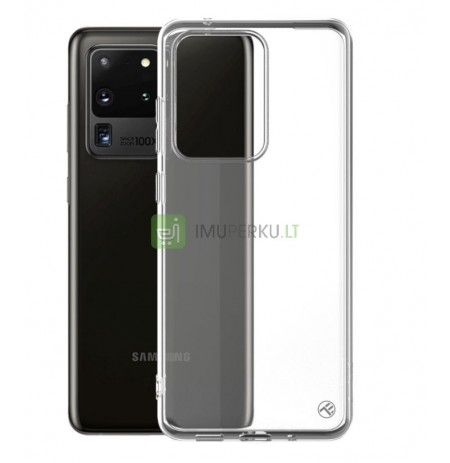 Tellur Cover Basic Silicone for Samsung S20 Ultra transparent