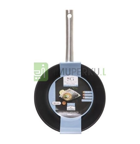 25,5cm stainless steel stove
