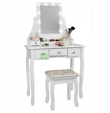 COSMETIC TABLE WITH LED LIGHTING 3 COLORS