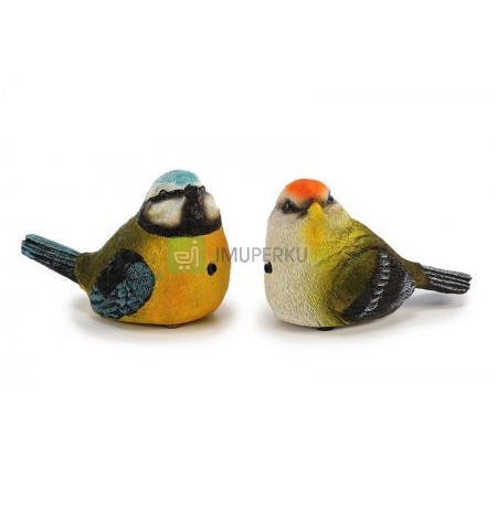 Poly bird with motion detector