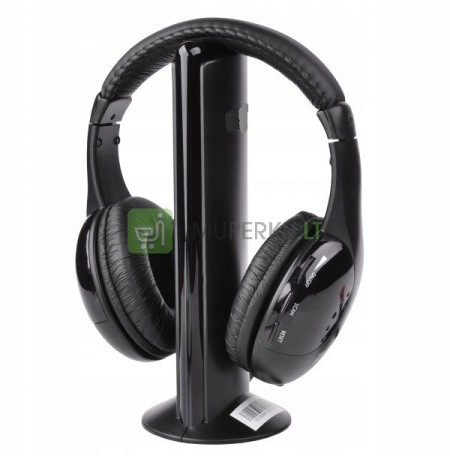 5-in-1 FM WIRELESS HEADPHONES - MONITORING FOR NANNY