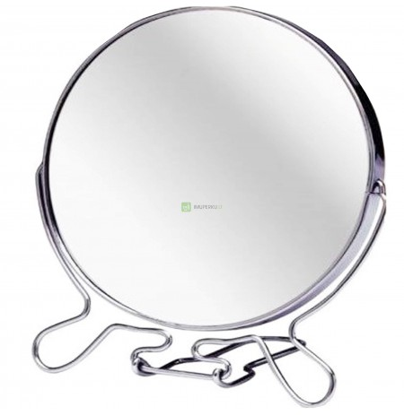 Double-sided mirror with 2x STANDING magnification