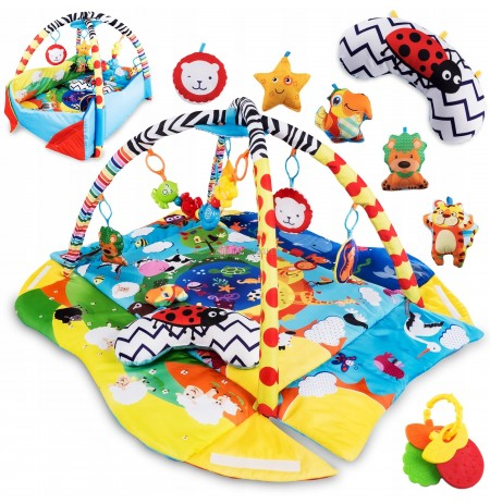 LARGE EDUCATIONAL MAT INTERACTIVE LIONELO ANIKA
