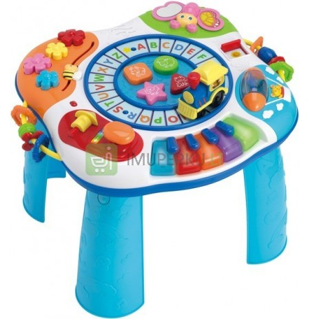 Educational Table Music Table PL Smily Play