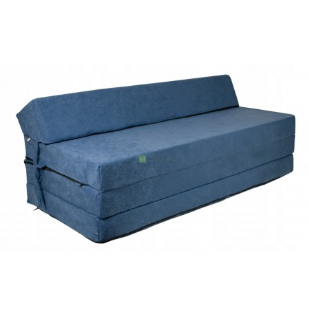 FOLDING ARMCHAIR 120X200x10 FOLDING MATTRESS PUFF