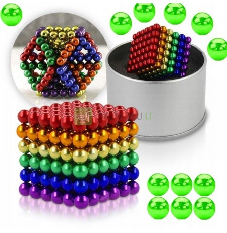 PADS MAGNETIC BALLS 5MM 216 PCS + FREE FLUO