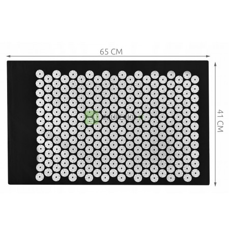Health Mat for Acupressure with Spikes. Stress Pain