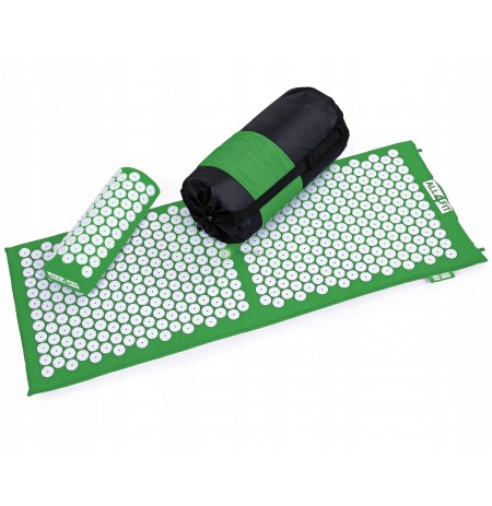 Mat + pillow for acupressure with spikes xxl 130x50