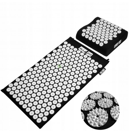 MAT + PILLOW FOR HEALTH ACUPRESSURE ALL4FIT