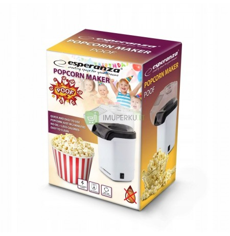 DEVICE POPCORN MACHINE WITHOUT FAT HIT !!