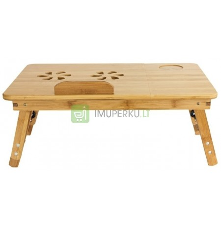 Bamboo table Support for reading books HIT