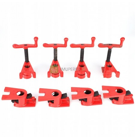 4PCS TUBE ENDLESS JOINERY 3/4 CLAMP