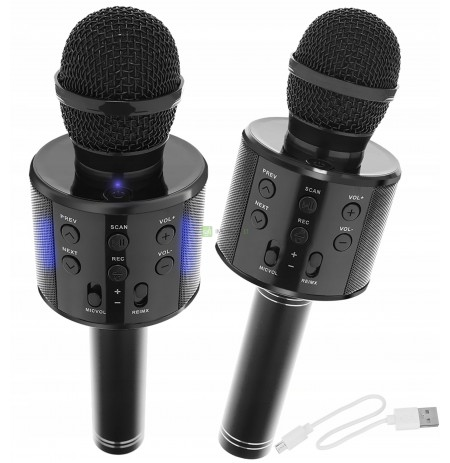 Wireless Karaoke Microphone Bluetooth Speaker 4