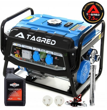 TAGRED 3500W AVR + OIL GENERATING SET
