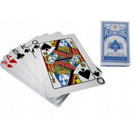 POKER CARDS DECK 54 COATED WITH PLASTIC