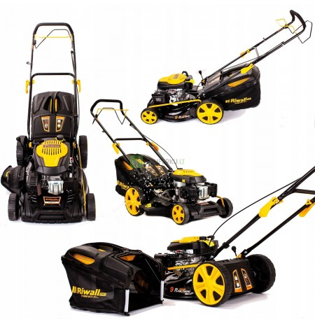 RIWALL 51CM 9in1 petrol mower with 5190 drive