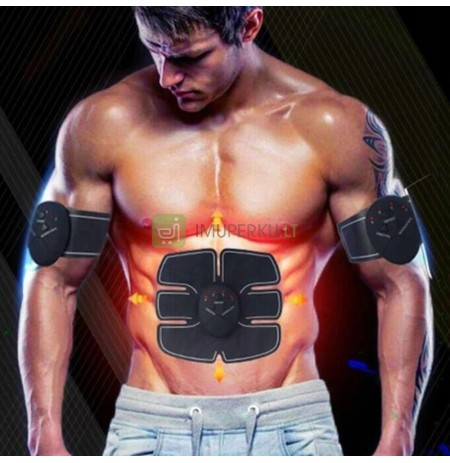 ELECTROSTIMULATOR OF ABDOMINAL MUSCLES EMS SET 3IN1